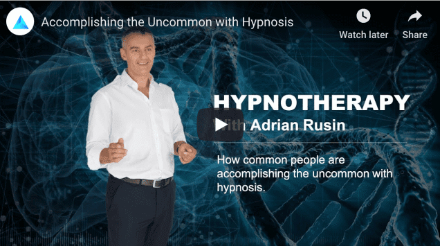 Adrian describes how people benefit from hypnotherapy.